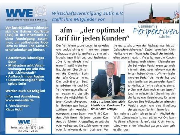 afm - Albin Herlitz im reporter
