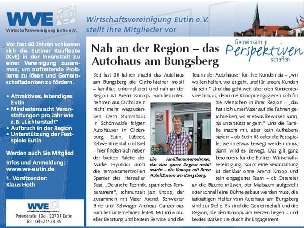 Autohaus am Bungsberg im reporter