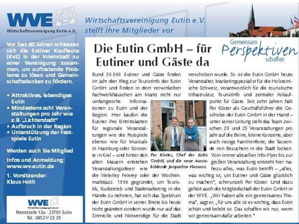 Die Eutin GmbH im reporter