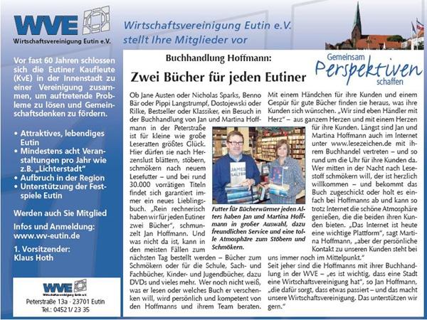 Buchhandlung Hoffmann im reporter