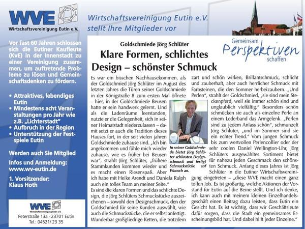 Goldschmied Jörg Schlüter im reporter
